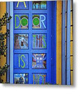California Door Collection 3 Metal Print