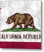 California Flag Metal Print