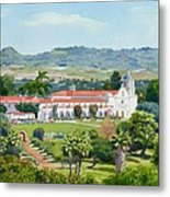 California Mission San Luis Rey Metal Print