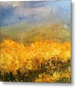 California Orchards Metal Print by Sherry Harradence