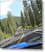 California Road Metal Print