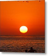 California Summer Sunset  Metal Print