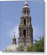 California Tower, Balboa Park, San Diego, California Metal Print