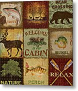 Call Of The Wilderness Metal Print