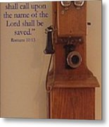 Call On The Lord Metal Print