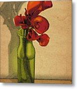 Calla Lilies In Bloom Metal Print