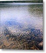 Callaghan Lake Stones Metal Print