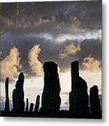 Callanish Standing Stones Metal Print by Tim Gainey