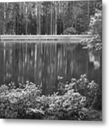 Callaway Garden Reflection Pond Metal Print