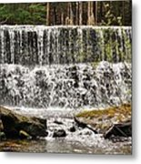 Callens Run Waterfall Metal Print
