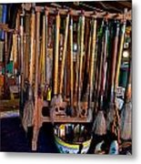 Calligraphy Studio Metal Print