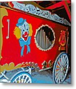 Calliope Wagon Metal Print