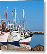 Calm Harbor Metal Print