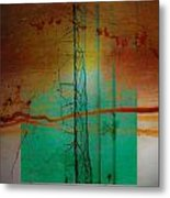 Calm Of Sand Metal Print