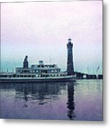 Calm On The Water Metal Print