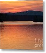 Calm Sunset Metal Print