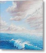Calming Ocean Metal Print by Joe Mandrick