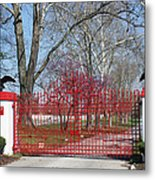Calumet Farm Entrance Metal Print