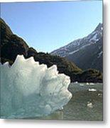 Calved Ice Alaska Metal Print