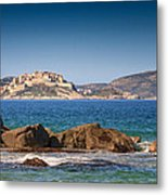 Calvi Citadel In Corsica Metal Print