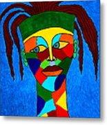 Calypso Man Metal Print