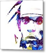 Cam Newton - Doc Braham - All Rights Reserved Metal Print
