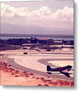 Cam Rahn Bay Airfield Metal Print