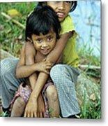 Cambodian Children 02 Metal Print