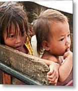 Cambodian Children 03 Metal Print