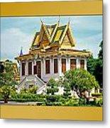 Cambodian Temples 1 Metal Print