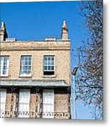 Cambridge Apartments Metal Print by Tom Gowanlock