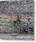 Cambridge Bike 3 Metal Print