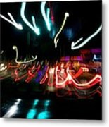 Cambridge Lights Metal Print