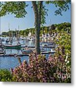 Camden Harbor Spring Metal Print by Susan Cole Kelly