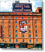 Camden Yards Metal Print