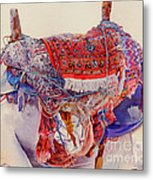 Camel Saddle Metal Print