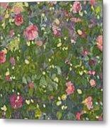 Camellia In Flower Metal Print