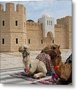Camels Tunis Metal Print