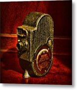 Camera - Bell And Howell Film Camera Metal Print