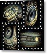 Camera Collage Metal Print