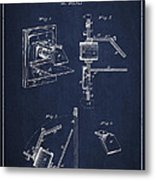 Camera Obscura Patent Drawing From 1881 Metal Print by Aged Pixel