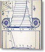 Camera Patent Metal Print