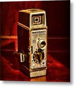 Camera - Vintage Bell And Howell Sun Dial 319 Metal Print