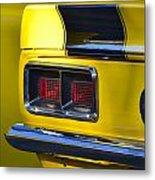 Camaro Taillight Metal Print