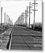 Cameron Prairie Road Metal Print