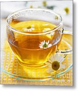 Chamomile Tea Metal Print