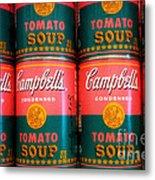 Campbell's Tomato Soup Pop Art Metal Print
