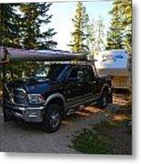 Camping 42 Metal Print
