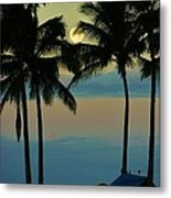 Camping Out Hawaii Style Metal Print