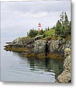 Campobello Island -  East Quoddy Lightstation Metal Print